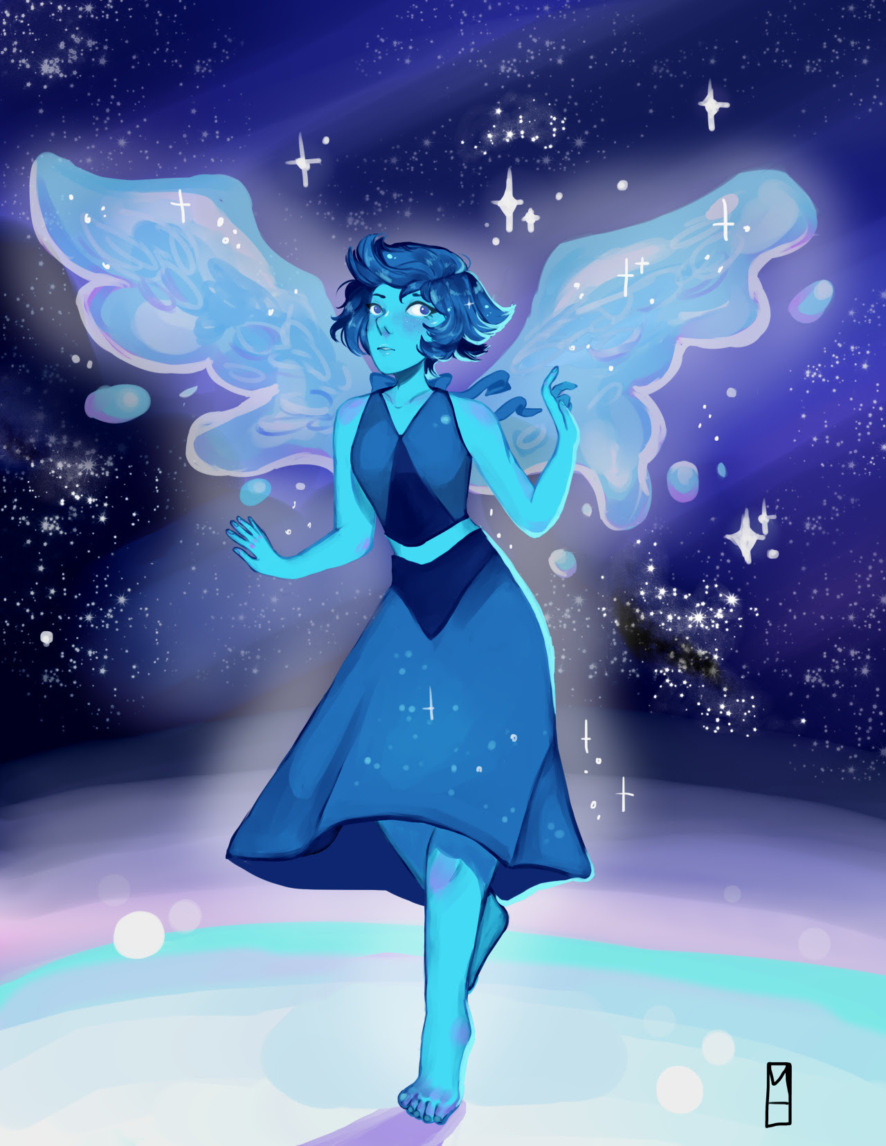 Lapis Lazuli!!!!!! when will steven universe come back from the war