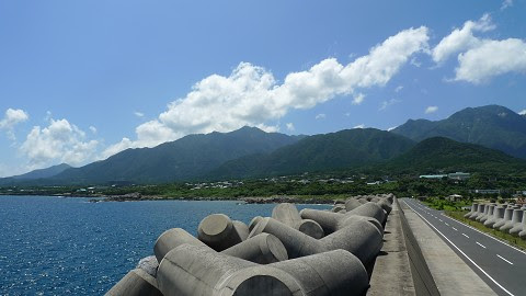 良く晴れる屋久島