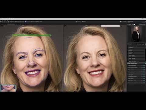LinkedIn Portrait Editing Using Photoshop, Portrait Professional and Lightroom