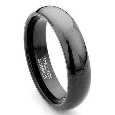 Black Wedding Bands For Women   Inofashionstyle.com