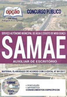 Apostila Concurso SAMAE Mogi Guaçu 2018 | AUXILIAR DE ESCRITÓRIO