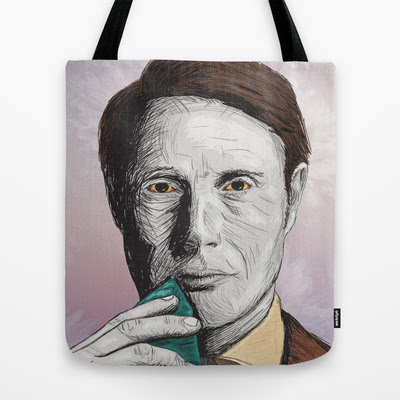 Dr Hannibal Lecter Tote Bag by Zuhair Mehrali | Society6