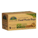 If You Care Certified Compostable Food Waste Bags - 30 count | By Supermarket Italy