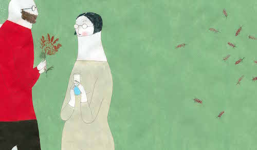 Elena Odriozola: Aplastamiento de las gotas