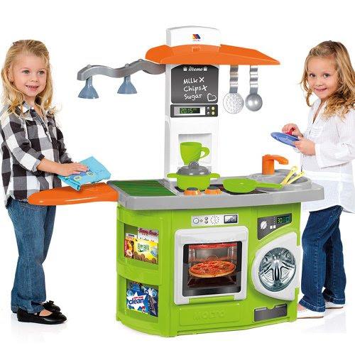 Conica de juguete, cocina de juguete con luz