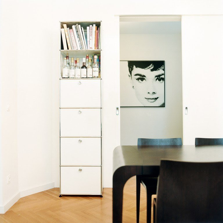 USM HALLER LIVING ROOM STORAGE Sectional chest of drawers ...
