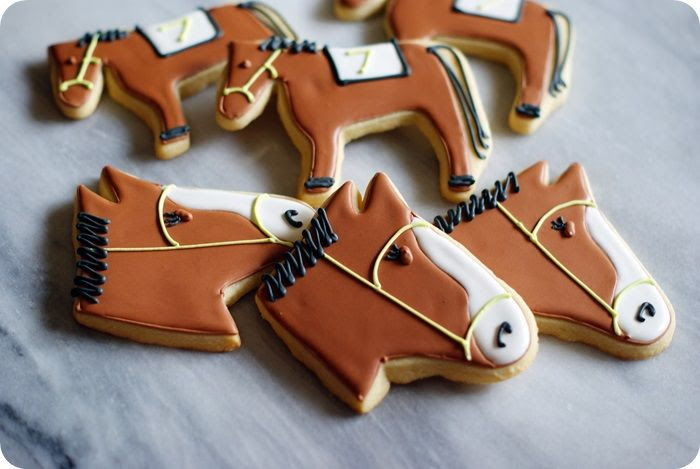 kentucky derby cookie tutorial | bake at 350