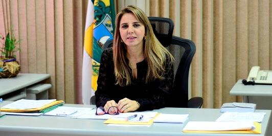 Kalina Leite, secrétaria de segurança publica do RN