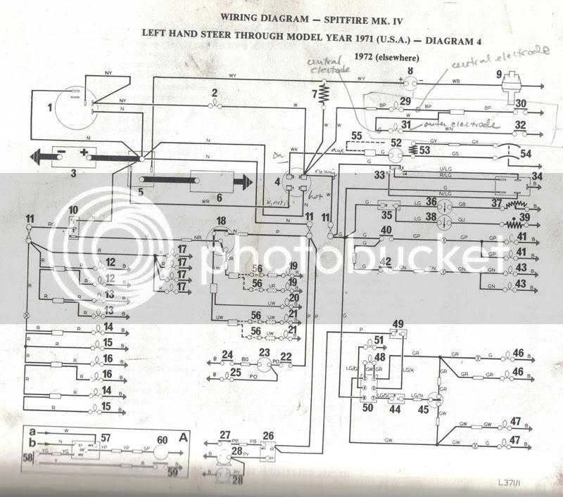 Spitfire Wire Harnes Diagram