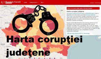 harta corupției judetene