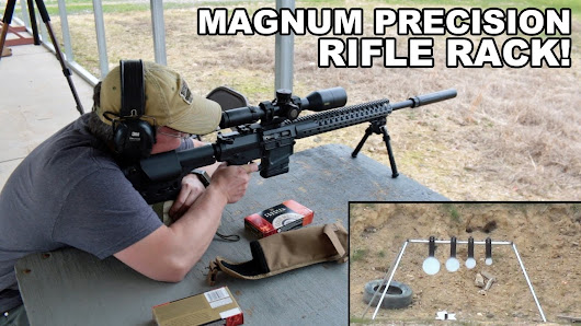 Magnum Precision Rifle Rack! ShootSteel.com - YouTube