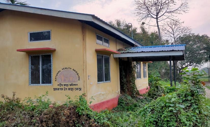 A healthcare centre in Tezpur's Amolapam. Abhishek Kabra