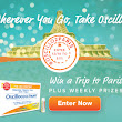 Oscillo Sweepstakes - Win a Trip to Paris - $2.00 off coupon - Mom, Are We There Yet?