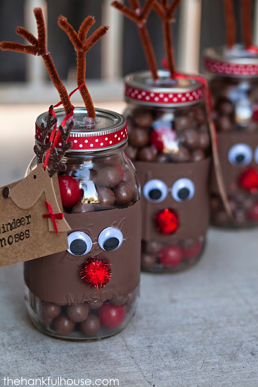 CHRISTMAS MASON JAR IDEAS