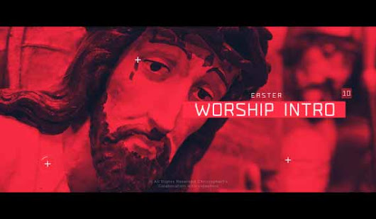 Holy Week and Easter Specials: 15 Worship After Effects Templates