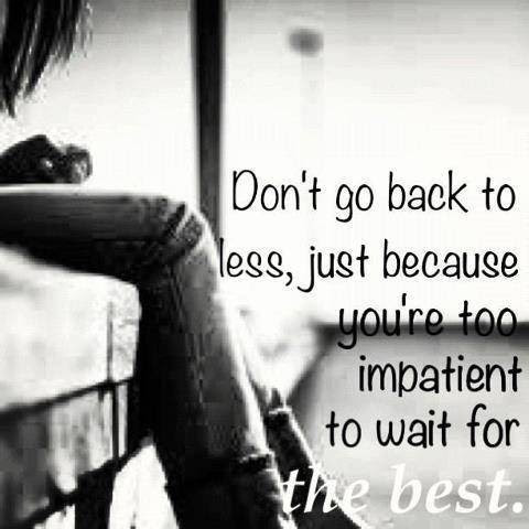 Never Settle For Second Best Quote Quote Number 682478 Picture