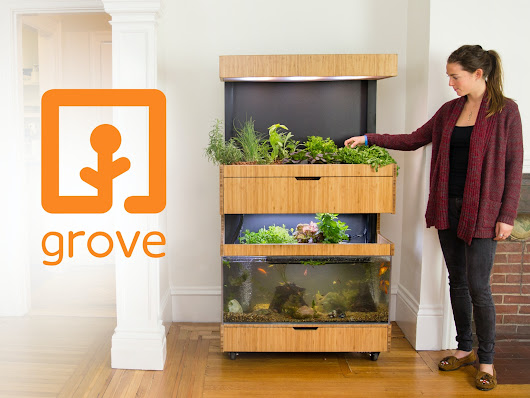 Grove Ecosystem - Grow Fresh Food In Your Home