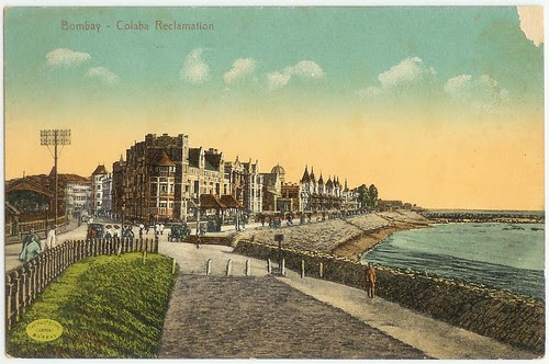 Colaba Reclamation POST CARD by BOMBMAN.