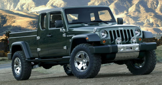 Jeep's Wrangler-based pickup could rumble into showrooms as soon as 2017