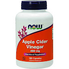 Now Foods Apple Cider Vinegar, 450 mg, Capsules - 180 count