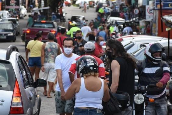Sem sair de casa Fátima e empresários abre comercio e manda o povo pras ruas; falta abrir hospitais e leitos novos