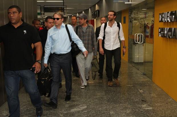 Atores de 'Se Beber não case' chegam ao Rio (Foto: Clayton Militão/Foto Rio News)