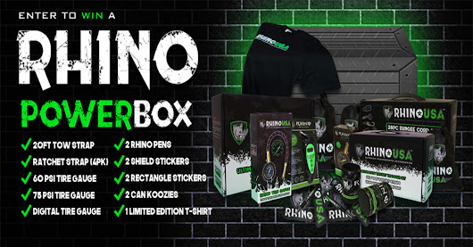 I just entered this FREE Rhino PowerBox Contest! ($200 Value)