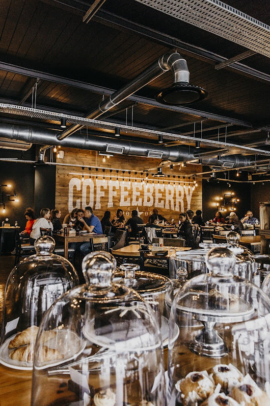 Coffeeberry: A Coffee Shop Makeover - SA Décor & Design