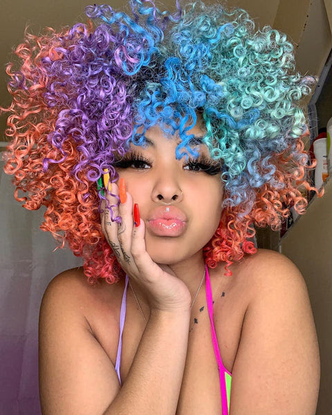 10 Inspiring Vibrant Hair Color Ideas Using Temporary Color Hair Wax For 2020 Ponyfly
