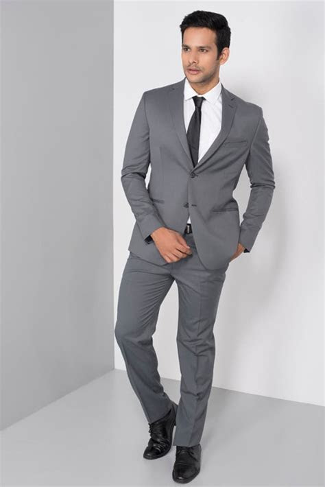 Rent Raymond   Grey Formal Two Piece Suit