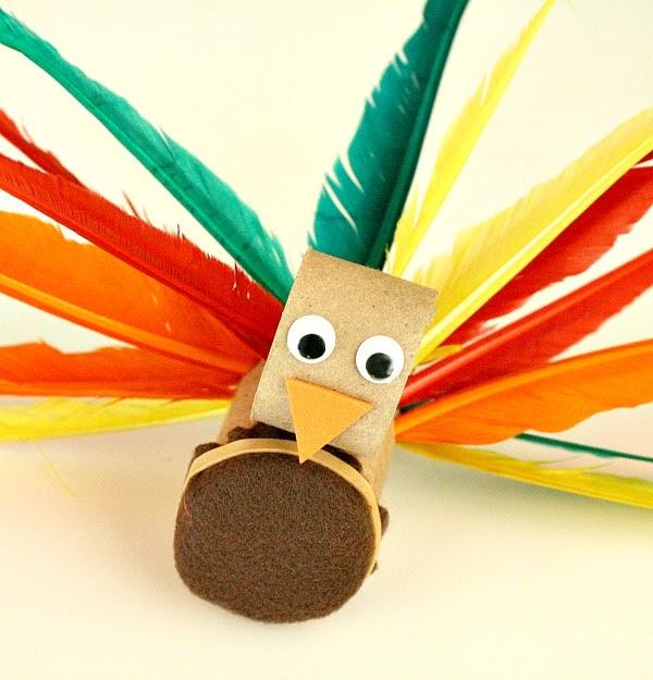 Preschool crafts for kids thanksgiving turkey toilet for Pre k turkey crafts