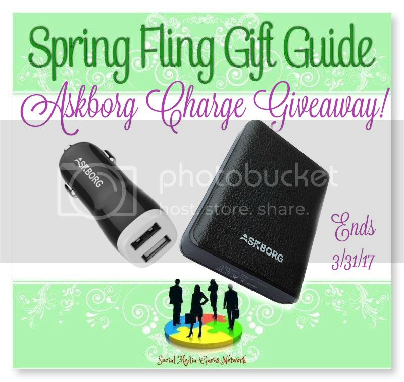 Askborg Charge Giveaway. Ends 3/31