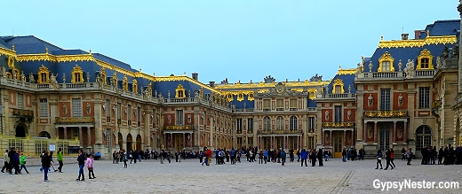 Lights, Camera, Action at The Palace of Versailles | The GypsyNesters