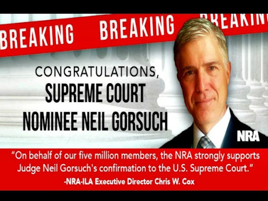 NRA to Campaign Against Red State Democrats who Oppose Gorsuch - Breitbart