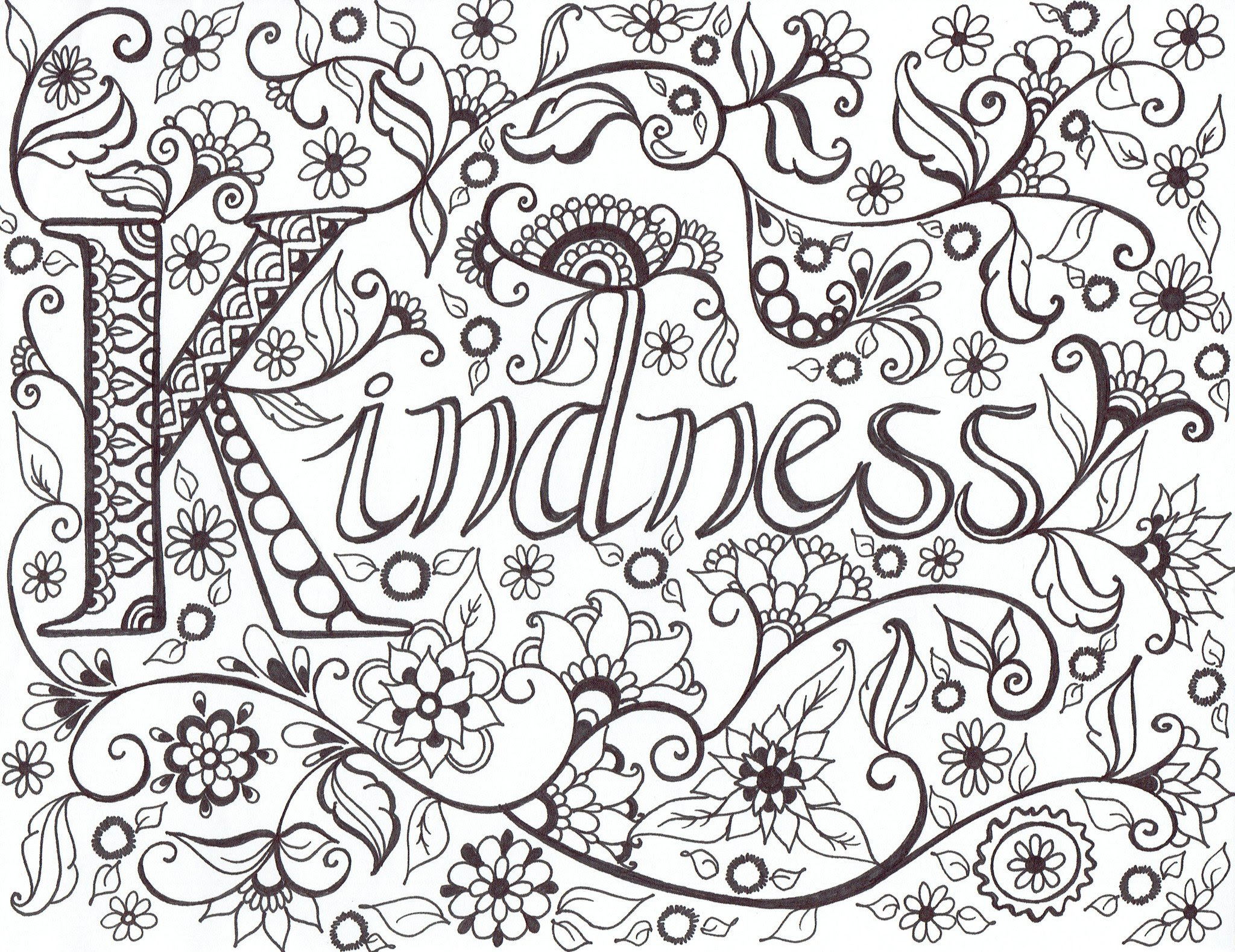 Kindness Drawing at GetDrawings | Free download