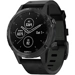 Garmin Fenix 5 Plus Sapphire Multisport GPS Watch - Black