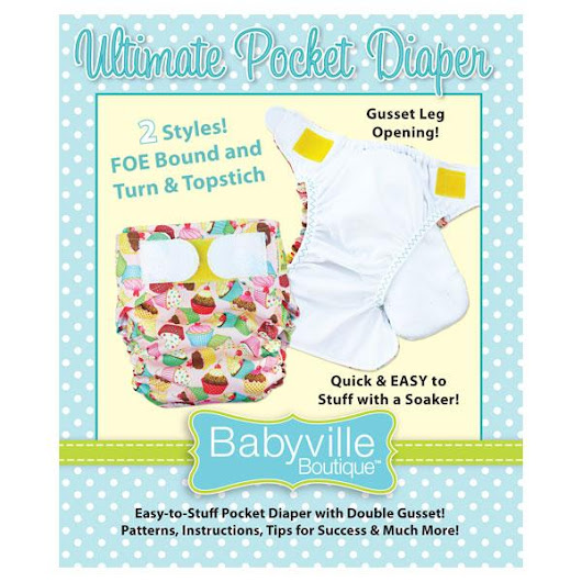 DIY Cloth Diapers with Babyville Boutique [+ an Earth Day #Giveaway worth $75!] - US/CAN