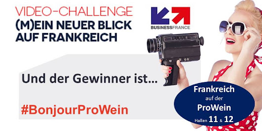 And the winner is … französischer Video-Wettbewerb zur PROWEIN