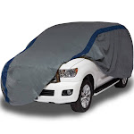 "Duck Covers 13""x6"" Weather Defender SUV Automotive Exterior Cover Gray/Blue"