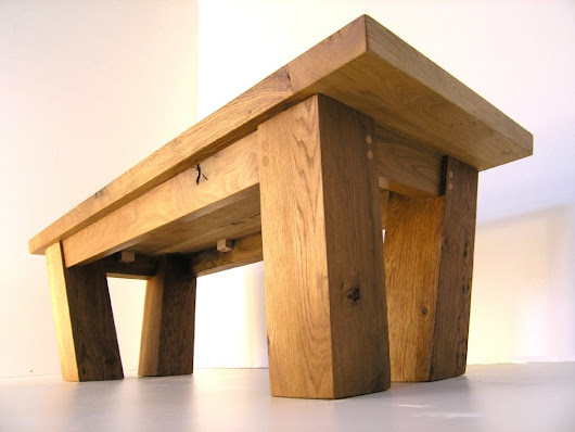 Solid Oak Coffee Tables | Makers Bespoke Furniture