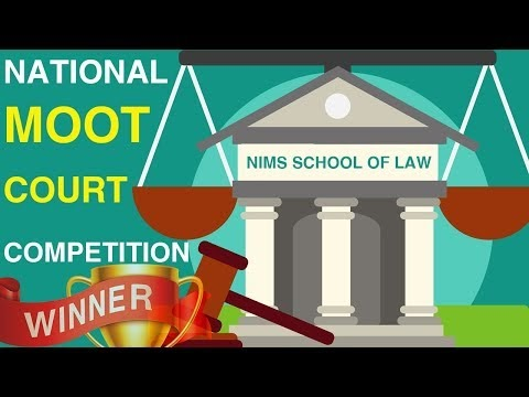 Law Students Wins - National Moot Court Competition 2019