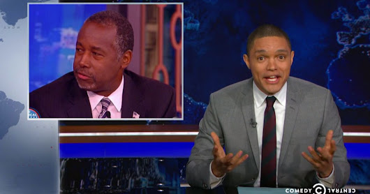 Trevor Noah Loses It Over Ben Carson's Comments On Mass Shootings