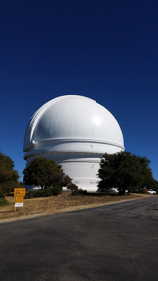 Touring the Palomar Observatory, Home of the Hale Telescope
