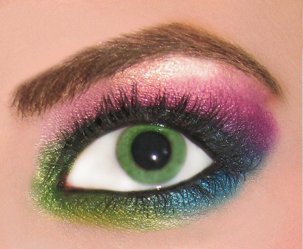 Rainbow Eyeshadow - Beauty Products Photo (11273726) - Fanpop