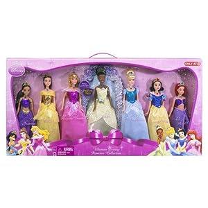 Amazon.com: Disney Princess Shimmer Doll Collection - NEW ...