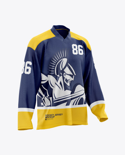 Download Mens Hockey Jersey (PSD) Download 130.29 MB