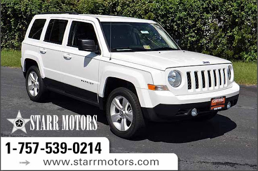 Certified Pre-Owned 2016 Jeep Patriot Latitude 4 Door Wagon in Suffolk #CP10907 | Starr Motors