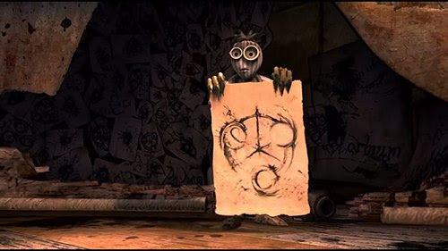 6 es visionnary obsesionado con un símbolo que resulta ser el talismán necesario para salvar a la pandilla.  Si te fijas bien en los bocetos de 6, es posible que note que contienen los números 666 ...