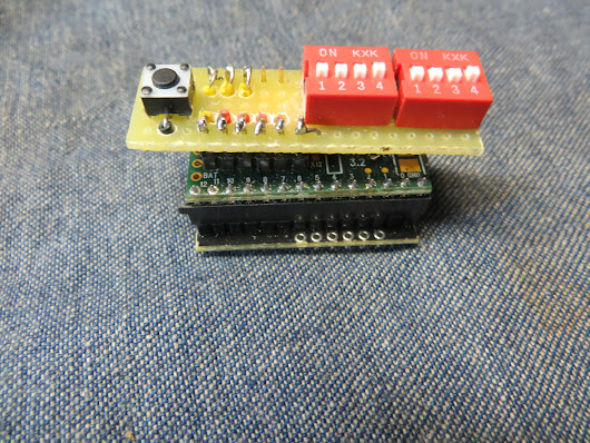 Building a Teensy 3.2 w/SD and 8 position DIP switch + Reset button