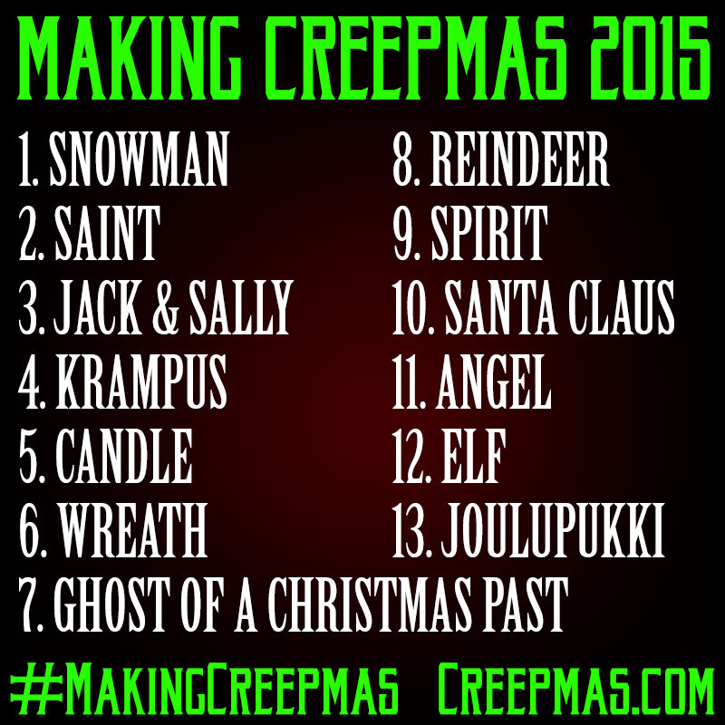 Making Creepmas Drawing Challenge